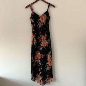 Evan Picone Petite Floral Maxi Dress